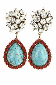 want now -- Calypso x DANNIJO earrings