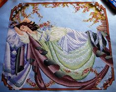 Sleeping Beauty - Mirabilia -- i think this one will be in my bedroom or maybe my living room i am not sure yet.