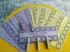 Looking for an independent way to teach time? Check these out https://www.teacherspayteachers.com/Product/Peg-Cards-Half-Past-oClock-4-x-Digital-and-4-x-Analogue-freedomdeals-3034119