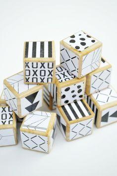 Image of Monochrome Nursery Blocks