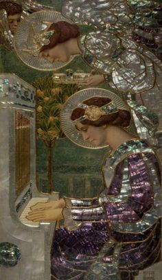 Saint Cecilia, Frederick Marriott