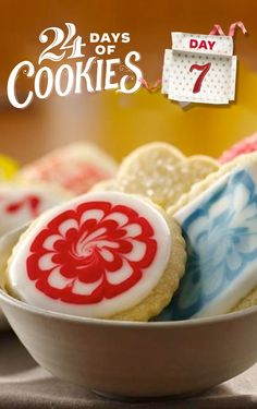 Think making sugar cookies from scratch is difficult? Think again. Betty's classic recipe is easy, scrumptious and fun to decorate—whether it's with frosting, sprinkles, glaze or sugar. Pro tip: Don't use vegetable oil spread in this recipe; stick to butter or a margarine that doesn't contain vegetable oil.