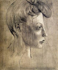 Womans Profile Pablo Picasso