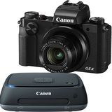 Just added to Digital Cameras on Best Buy : Canon PowerShot G5 X 20.2-Megapixel Digital Camera and Connect Station CS100 1TB External USB 2.0 Portable Hard Drive