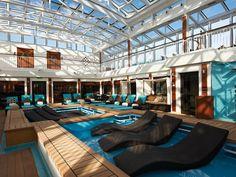 NCL Breakaway Cruiseship The Haven Outdoor