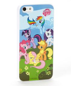 Take a look at this My Little Pony Case for iPhone 5 by My Little Pony on #zulily today!9