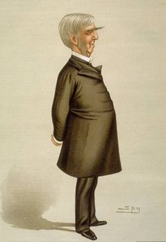 Holmes cartoon by Spy - Category:Vanity Fair caricatures (writers) - Wikimedia Commons