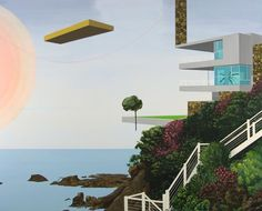 Morir Sonando - Painting by Dean Monogenis