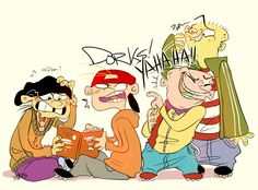 Ed, Edd n' Eddy - Edd/Double D, Kevin, Eddy & Ed - Fanart (LOUDMOUTH by xMits on DeviantArt)