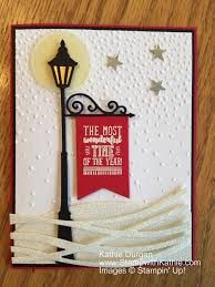 stampin up white christmas card ideas Christmas Cards 2017, Stampin Up Christmas, Christmas Settings, Xmas Cards, Handmade Christmas, Holiday Cards, Diy Cards, Christmas Lamp Post, Christmas Lanterns