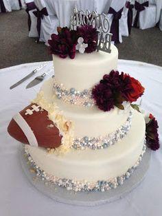 Autumn Pearl Wedding Cake