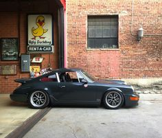 Porsche custom by Magnus Walker