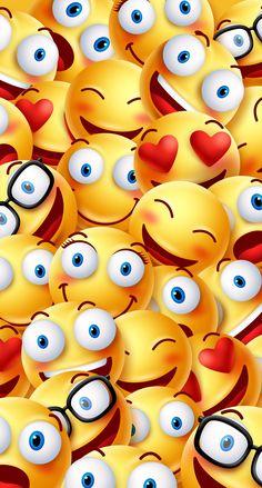 Los amoðÿ˜ƒðÿ˜ ðÿ˜— smile wallpaper funny iphone wallpaper apple wallpaper iphone Emoji Wallpaper Iphone, Smile Wallpaper, Cute Emoji Wallpaper, Phone Screen Wallpaper, Colorful Wallpaper, Cellphone Wallpaper, Cartoon Wallpaper, Iphone 6, Smileys