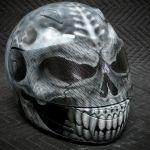 Skull Motorcycle Helmet II