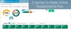 5 #Games to Make #Online_Assessments Fun.