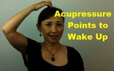 Massage Monday - Acupressure Points to Wake Up