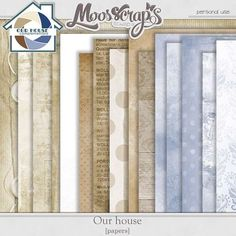 Digital Art :: Paper Packs :: Our House - papers