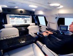The Becker Cadillac Escalade Mobile Office