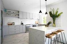 3 birds renovations cool kitchen