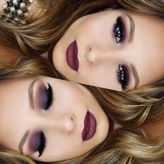 Gorgeous dramatic makeup look by lash factory