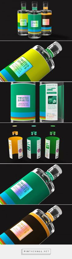 Twisted Spirits packaging design by Lyon & Lyon - http://www.packagingoftheworld.com/2017/03/twisted-spirits.html