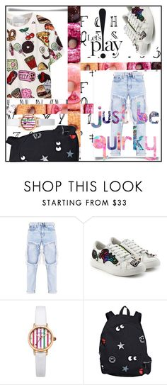 """""""Just be QUIRKY!"""" by j4wahir on Polyvore featuring Marc Jacobs, Johnny Loves Rosie and LAUREN MOSHI"""