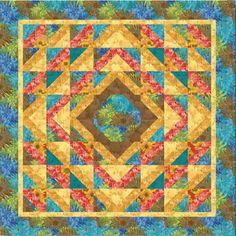 Sunflowers Quilt Pattern