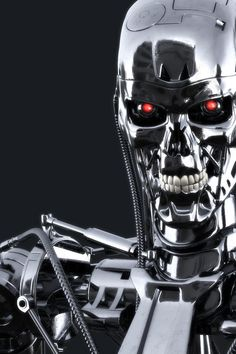 Terminator. Cyberdyne Systems endoskeleton. Possibly model 800 or one of the many sub-models.
