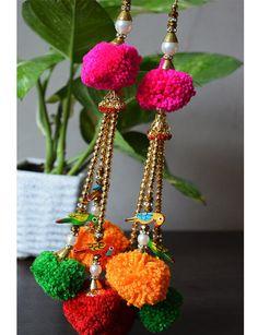 Glands décoratifs faits à la main de Tribal gitane coton, décoration fournitures et cloches Tassel / pompon / Camel swag / embellissement /