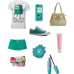 adventure time clothing style   Adventure Time (Beemo) - Polyvore