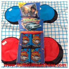 Back To The Future II Movie Trading Cards