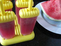 MadeForJen: Watermelon Agua Fresca Popsicles