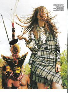 Papua New Guinea Vogue UK (Tim Walker)