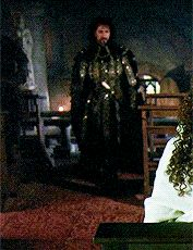 """as Sheriff of Nottingham in """"Robin Hood: Prince of Thieves"""""""