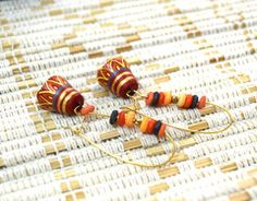 Terracotta Jewelry #earrings #terracotta #jewelry buy these at www.craftsandlooms.com #craftsandlooms