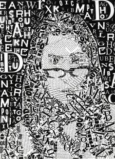 Jennifer Cruz, Type Portrait, 2009.