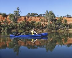 60 days living in a canoe along the Murray River in Austrlia. One of the Largest navigatable rivers in the world, and an immersive experience. City Of Adelaide, Murray River, River Bank, One With Nature, Time Activities, Immersive Experience, Canoeing, South Australia, Us Travel