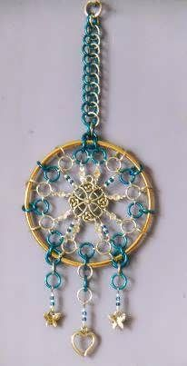 CelticDreamcatcher - Dreamcatchers & Candle Holders - Gallery - TheRingLord - interesting idea