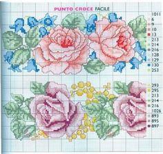 Com os gráficos de ponto cruz a gente sempre pode fazer belos bordados, e esta é uma atividade que transmite muita calma para a pessoa que borda. Para que você possa bordar rosas em ponto cruz e qu…