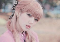 It would be fun to have light pink hair