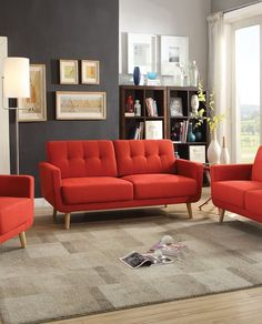 Small Spaces Configurable Sectional Sofa, Multiple Colors - Walmart ...