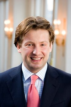 His Highness Prince of Orange-Nassau, van Vollenhoven.  Prince Floris Frederik Martijn of Orange-Nassau, van Vollenhoven, born 10 April 1975, is the fourth and youngest son of HRH Princess Margriet of the Netherlands and Pieter van Vollenhoven. He is a first cousin of the King.