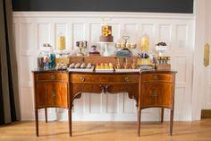 Una mesa de dulces muy elegante / An elegant sweet table