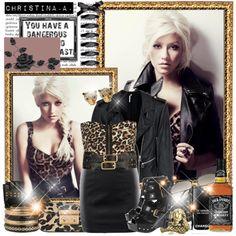 Christina Aguilera, created by martsmr.polyvore.com