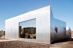 Rebel house in almere, the netherlands. designed by amsterdam-based studio atelier van wengerden