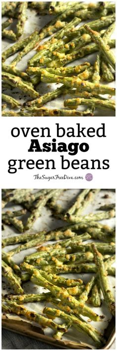 oven baked asiago green beans #sheetpan #veggies #vegetables #yummy #recipe #healthy