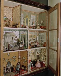 Swedish dollhouse from the 1860s at Nordiska Museet, Stockholm