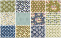 New Tilda Collection Spring 2016 Fabrics PARDON MY GARDEN