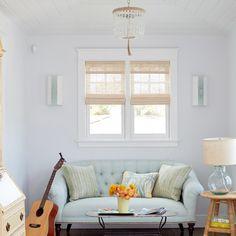 bedroom sitting area | Waterleaf Interiors