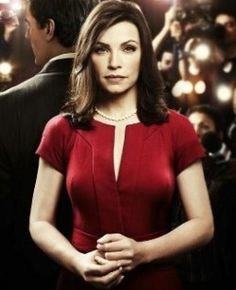 Alicia Florrick (Julianna Margulies on 'The Good Wife')